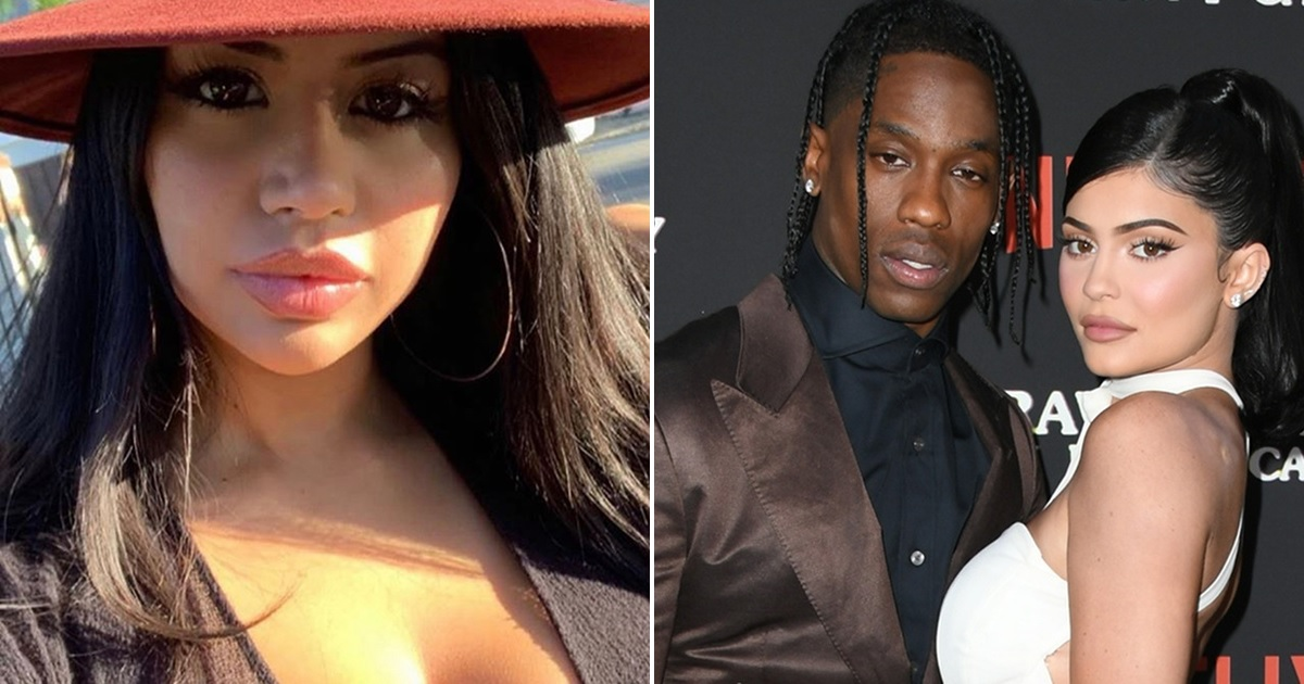 Travis Scott's Alleged Side Chick Denies Causing Kylie Jenner Break-Up